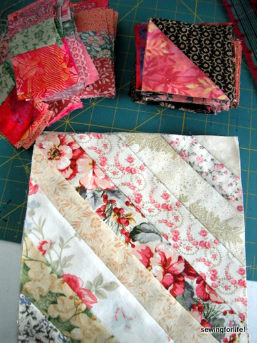 dscf1302 Quiltmakers Block Network: String Piecing and Giveaway!