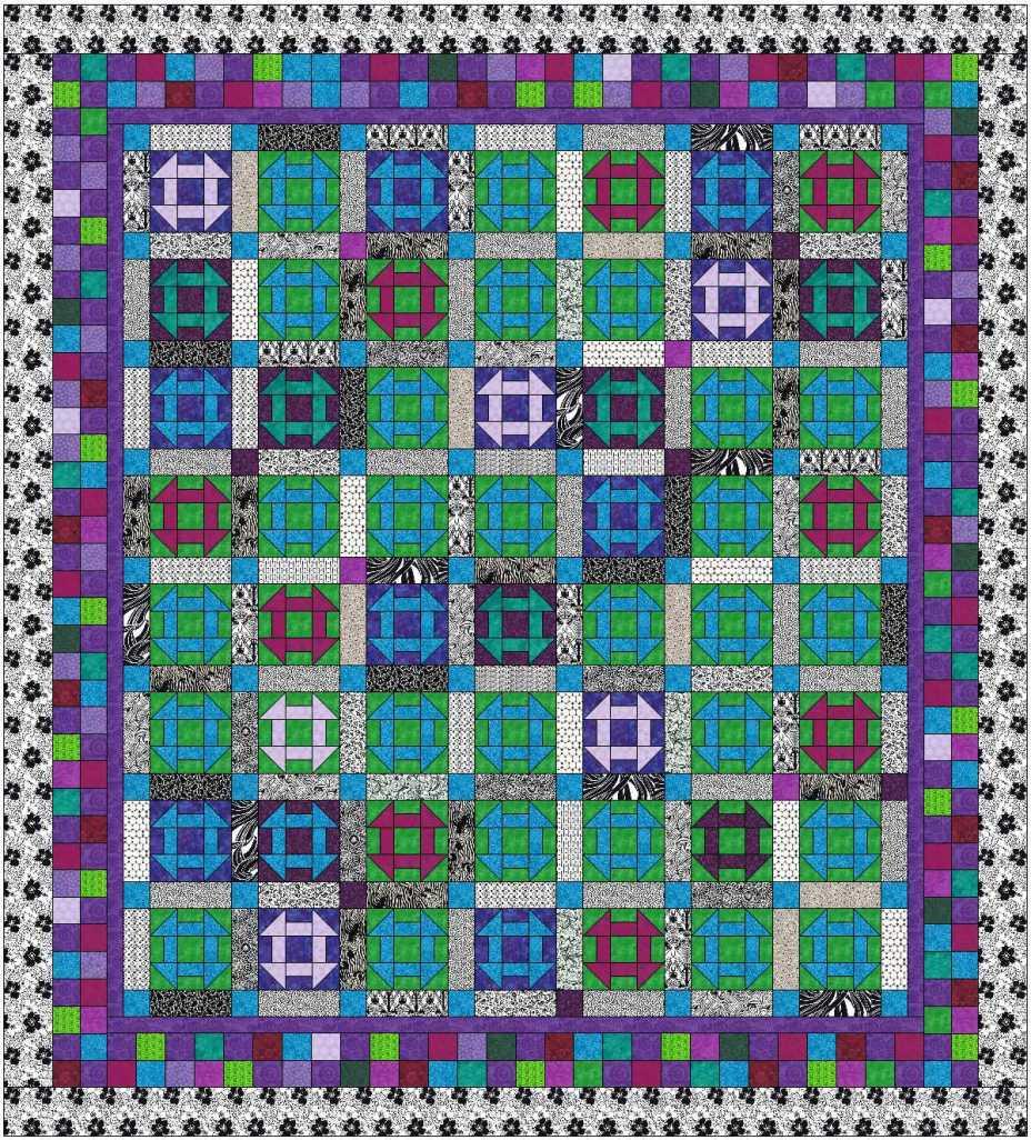 churn dash white outer purple inner