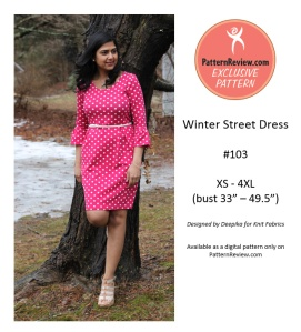 winter street dress