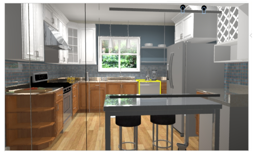 Kitchen with 2 tone rev1